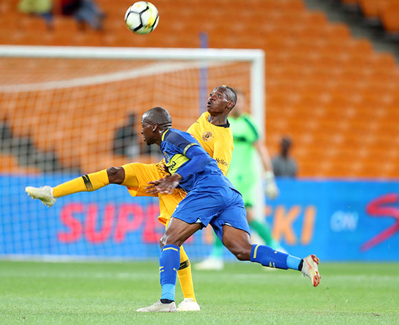 Khama Billiat of Kaizer Chiefs challenged by Thamsanqa Mkhize of Cape Town City during the Absa Premiership 2018/19 match between Kaizer Chiefs and Cape Town City at FNB Stadium, Johannesburg on 30 January 2019 ©Samuel Shivambu/BackpagePix