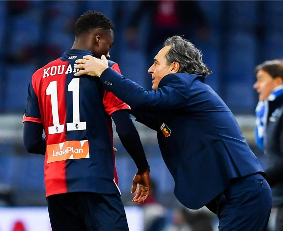 Genoa director reveals Premier League interest in Christian Kouame