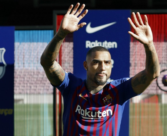 Boateng realistic about his place in Barca squad