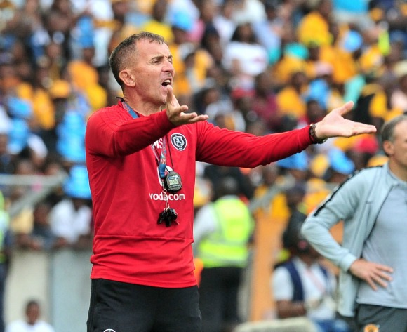 Pirates coach highlights defensive issues ahead of CAF clash