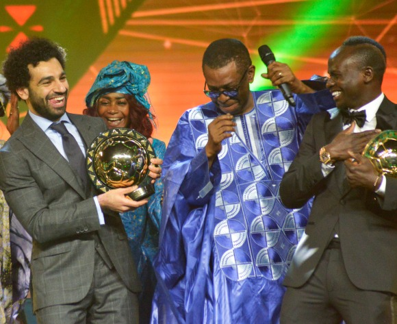 VIDEO: Watch Salah and Mane dancing at the CAF Awards