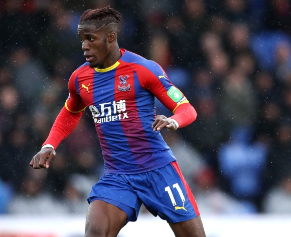 Jurgen Klopp hails 'world class' Wilfried Zaha