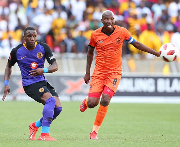 George Maluleka of Kaizer Chiefs challenged by Jabulani Maluleke of Polokwane City during the Absa Premiership 2018/19 match between Polokwane City and Kaizer Chiefs at Peter Mokaba Stadium, Polokwane on 23 February 2019 ©Samuel Shivambu/BackpagePix