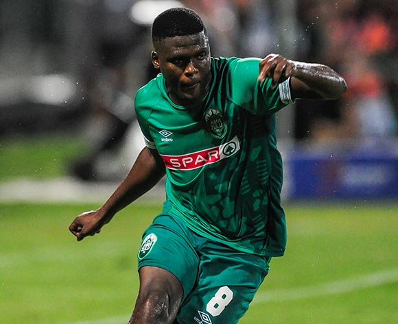 Jabulani Ncobeni of AmaZulu FC during the Absa Premiership 2018/19 game between AmaZulu FC and Cape Town City FC at King Zwelithini Stadium in Durban the on 09 February 2019 © Gerhard Duraan/BackpagePix