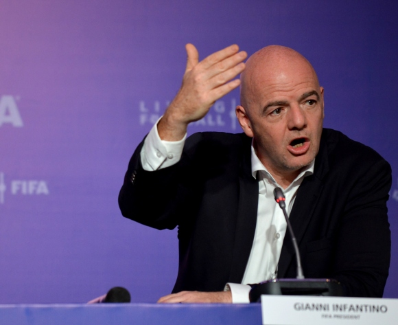 Infantino explains why FIFA opened regional office in Ethiopia