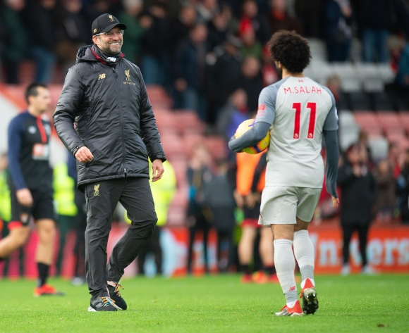 Klopp backs underfire Salah