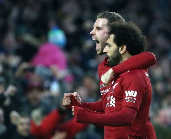 Salah matches Suarez's Liverpool record