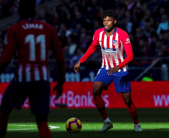 Atletico's Thomas Partey cools exit talks