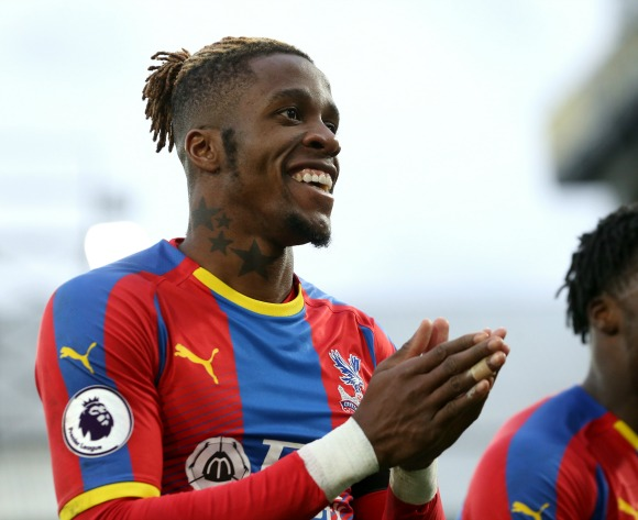 WATCH: Wilfried Zaha rescues point for Crystal Palace