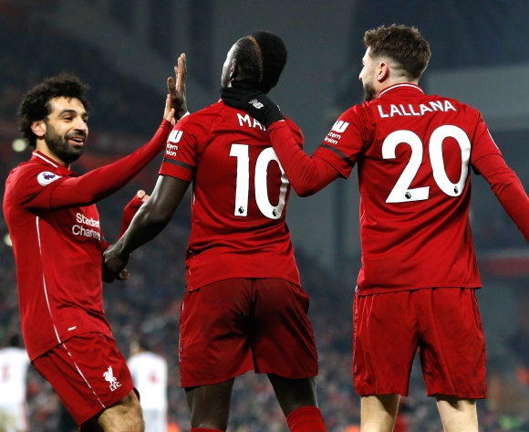 'Doubled up' Salah behind Mane's scoring streak