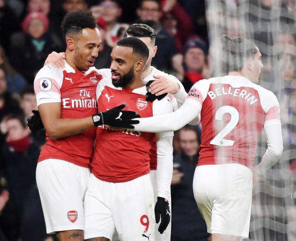 Aubameyang on his 'strong friendship' with Lacazette
