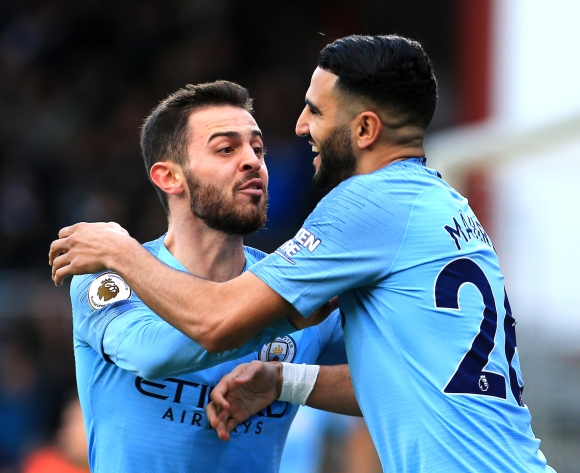 Pep Guardiola praise for Riyad Mahrez