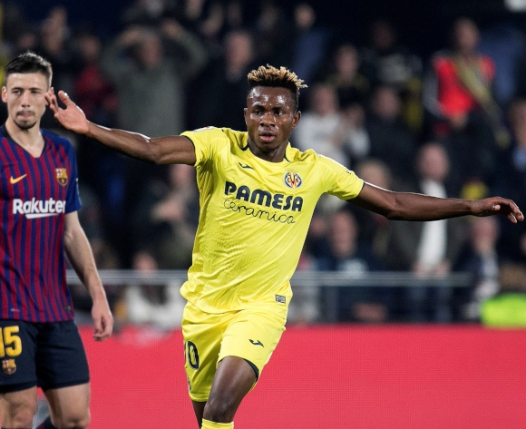 Samuel Chukwueze happy to play for Nigeria at all levels