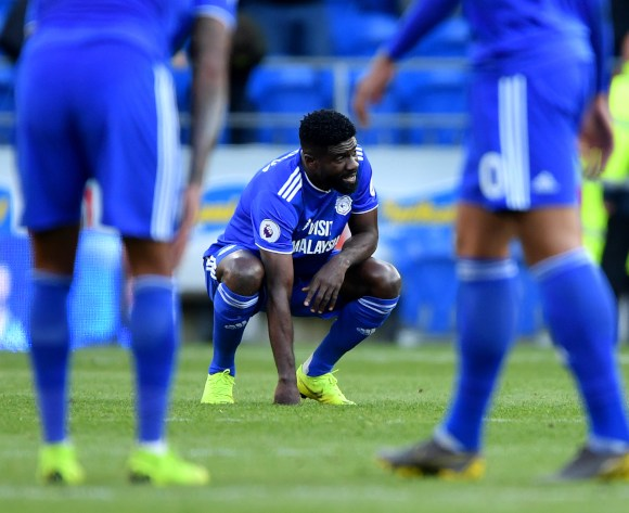 WATCH: Emotional scenes as Bruno Ecuele Manga's Cardiff relegated