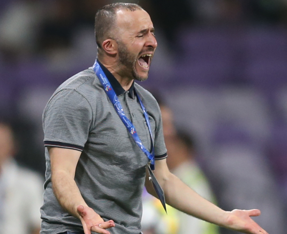 Algeria coach Belmadi: Senegal are the favourites