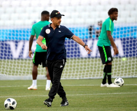 Rohr: Nigeria will not face Morocco in pre-AFCON clash