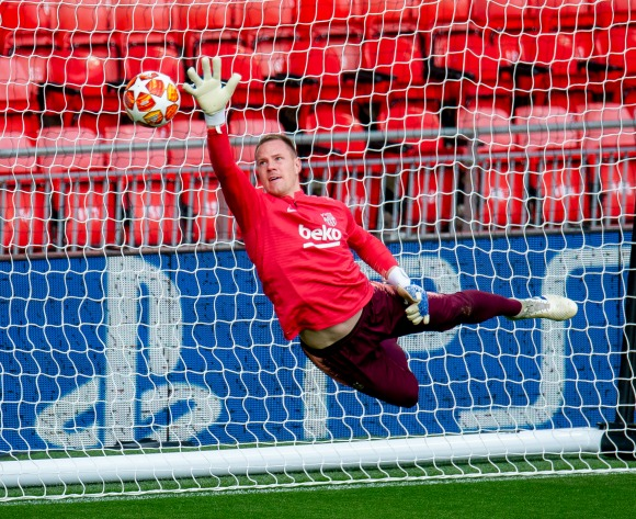Nigeria goalkeepers look up to Ter Stegen - Rohr