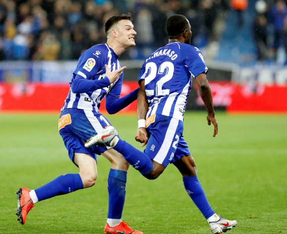 Watch: Ghana's Mubarak Wakaso score for Alaves