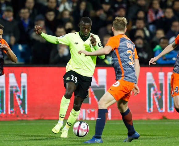 Nicolas Pepe to leave Lille