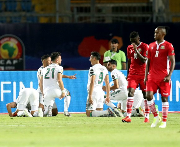 Algeria too strong for Kenya