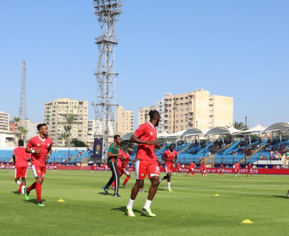 Burundi warming up during the 2019 Africa Cup of Nations match between Madagascar and Burundi at the Alexandria Stadium, Alexandria on the 27 June 2019 ©Muzi Ntombela/BackpagePix