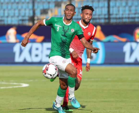 Feneva Ima Andriatsima of Madagascar challenged by Omar Ngando of Burundi during the 2019 Africa Cup of Nations match between Madagascar and Burundi at the Alexandria Stadium, Alexandria on the 27 June 2019 ©Muzi Ntombela/BackpagePix