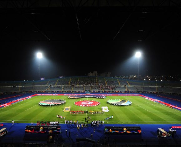 General view of 30 June Stadium before kickoff of the 2019 Africa Cup of Nations Finals match between Kenya and Tanzania at 30 June Stadium, Cairo, Egypt on 27 June 2019 © Ryan Wilkisky/BackpagePix