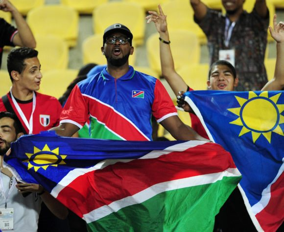 Namibia fans during the 2019 Africa Cup of Nations Finals match between South Africa and Namibia at Al Salam Stadium in Cairo, Egypt on 28 June 2019 © Ryan Wilkisky/BackpagePix
