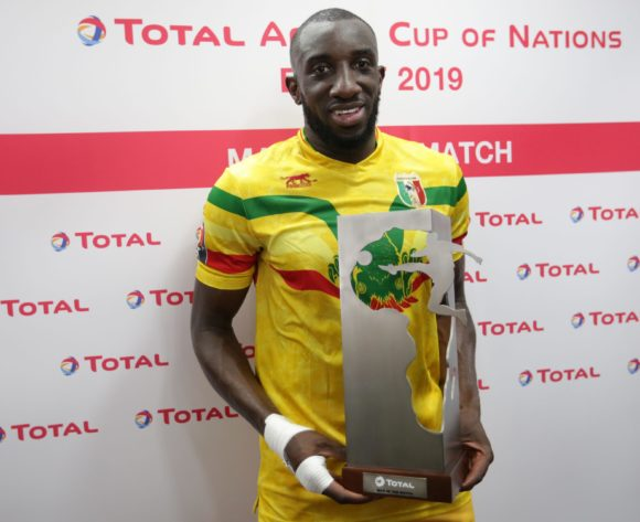 Moussa Marega of Mali wins Total Man of the Match Award during the 2019 Africa Cup of Nations Finals match between Tunisia and Mali at Suez Stadium, Suez, Egypt on 28 June 2019 ©Samuel Shivambu/BackpagePix
