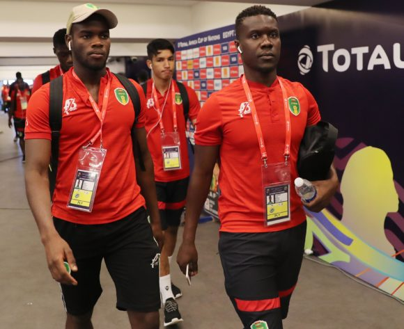 Mauritania team arrivals during the 2019 Africa Cup of Nations Finals football match between Mauritania and Angola  at the Suez Stadium, Suez, Egypt on 29 June 2019 ©Gavin Barker/BackpagePix