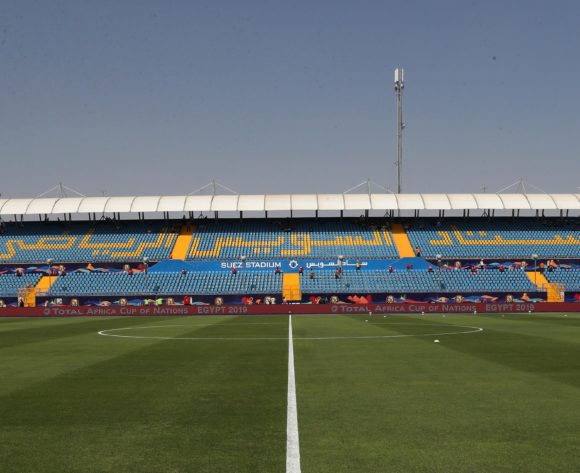 General View Stadium  during the 2019 Africa Cup of Nations Finals football match between Mauritania and Angola  at the Suez Stadium, Suez, Egypt on 29 June 2019 ©Gavin Barker/BackpagePix