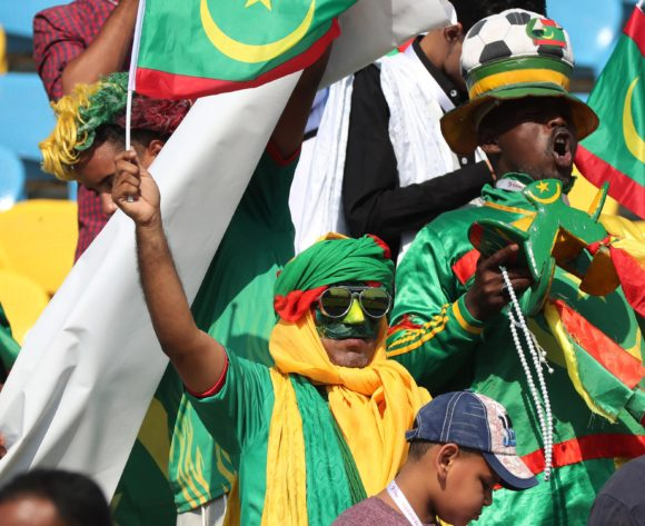 Mauritania Fans  during the 2019 Africa Cup of Nations Finals football match between Mauritania and Angola  at the Suez Stadium, Suez, Egypt on 29 June 2019 ©Gavin Barker/BackpagePix
