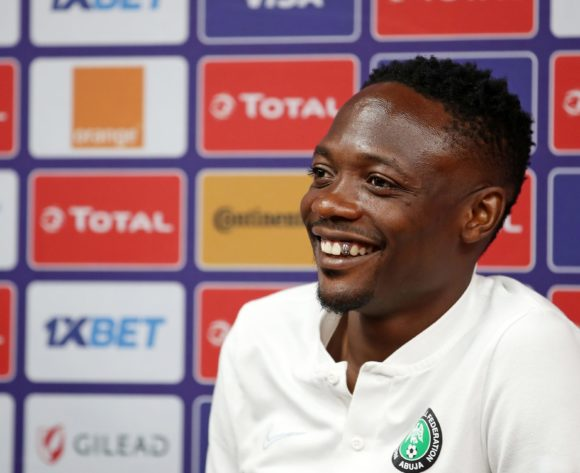 Ahmed Musa of Nigeria during the 2019 Africa Cup of Nations Nigeria Press Conference at the Alexandria Stadium, Alexandria on the 29 June 2019 ©Muzi Ntombela/BackpagePix