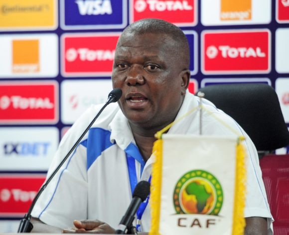 Olivier Niyungeko, head coach of Burundi chats to media during the 2019 Africa Cup of Nations Finals press conference for Burundi at Al Salam Stadium in Cairo, Egypt on 29 June 2019 © Ryan Wilkisky/BackpagePix