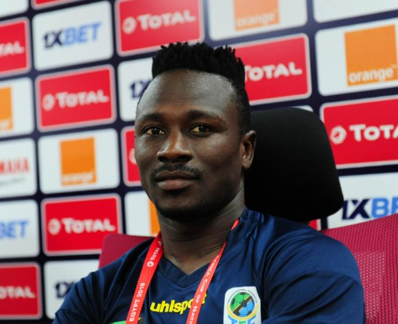 Simon Msuva of Tanzania chats to media during the 2019 Africa Cup of Nations Finals press conference for Tanzania at 30 June Stadium in Cairo, Egypt on 29 June 2019 © Ryan Wilkisky/BackpagePix