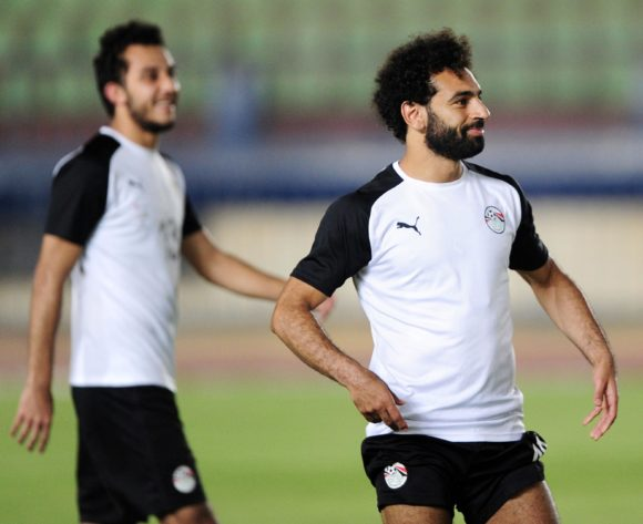 Mohamed Salah of Egypt during the 2019 Africa Cup of Nations Finals training session for Egypt at the Military Academy Stadium in Cairo, Egypt on 29 June 2019 © Ryan Wilkisky/BackpagePix