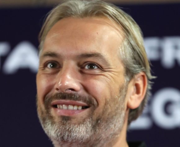 Sebastien Desabre, head coach of Uganda during the 2019 Africa Cup of Nations Finals Uganda press conference at Cairo International Stadium, Cairo, Egypt on 29 June 2019 ©Samuel Shivambu/BackpagePix