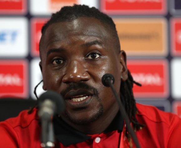Hassan Wasswa of Uganda during the 2019 Africa Cup of Nations Finals Uganda press conference at Cairo International Stadium, Cairo, Egypt on 29 June 2019 ©Samuel Shivambu/BackpagePix