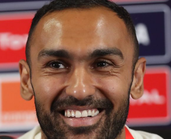Ahmed El Mohamady of Egypt during the 2019 Africa Cup of Nations Finals Egypt press conference at Cairo International Stadium, Cairo, Egypt on 29 June 2019 ©Samuel Shivambu/BackpagePix