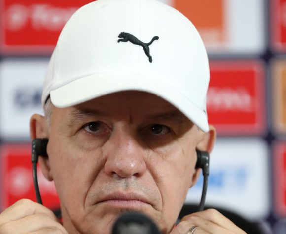 Javier Aguirre, coach of Egypt during the 2019 Africa Cup of Nations Finals Egypt press conference at Cairo International Stadium, Cairo, Egypt on 29 June 2019 ©Samuel Shivambu/BackpagePix