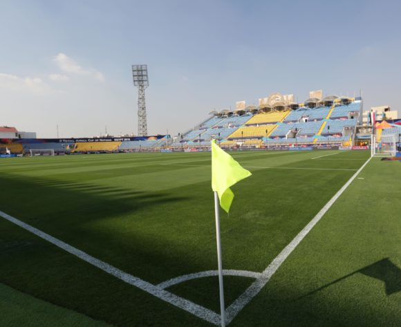 General view Stadium during the 2019 Africa Cup of Nations Finals Cameroon and Ghana at Ismailia Stadium, Ismailia, Egypt on 29 June 2019 ©Samuel Shivambu/BackpagePix