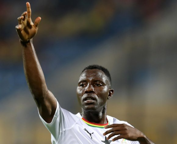 Kwadwo Asamoah of Ghana during the 2019 Africa Cup of Nations Finals Cameroon and Ghana at Ismailia Stadium, Ismailia, Egypt on 29 June 2019 ©Samuel Shivambu/BackpagePix