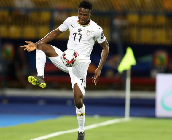 Mubarak Wakaso of Ghana during the 2019 Africa Cup of Nations Finals Cameroon and Ghana at Ismailia Stadium, Ismailia, Egypt on 29 June 2019 ©Samuel Shivambu/BackpagePix