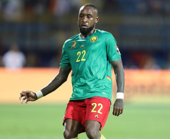 Jean-Armel Kana-Biyik of Cameroon during the 2019 Africa Cup of Nations Finals Cameroon and Ghana at Ismailia Stadium, Ismailia, Egypt on 29 June 2019 ©Samuel Shivambu/BackpagePix