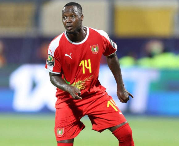 Juary Soares of Guinea-Bissau during the 2019 Africa Cup of Nations Finals Benin and Guinea-Bissau at Ismailia Stadium, Ismailia, Egypt on 29 June 2019 ©Samuel Shivambu/BackpagePix