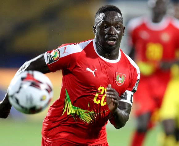 Mamadu Cande of Guinea-Bissau during the 2019 Africa Cup of Nations Finals Benin and Guinea-Bissau at Ismailia Stadium, Ismailia, Egypt on 29 June 2019 ©Samuel Shivambu/BackpagePix