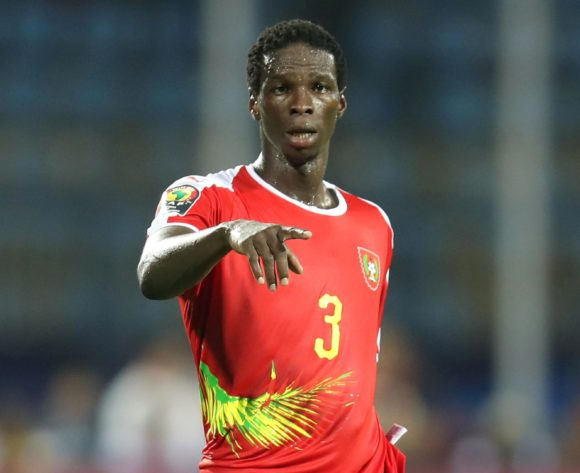 Braima Jorge of Guinea-Bissau during the 2019 Africa Cup of Nations Finals Benin and Guinea-Bissau at Ismailia Stadium, Ismailia, Egypt on 29 June 2019 ©Samuel Shivambu/BackpagePix