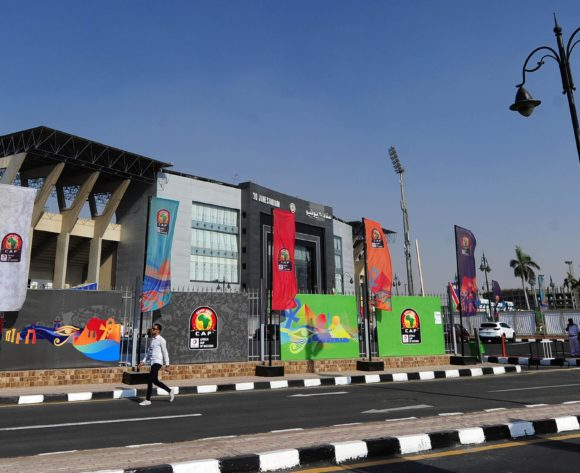 General view of 30 June Stadium the 2019 Africa Cup of Nations Finals game between Zimbabwe and DR Congo at 30 June Stadium in Cairo, Egypt on 30 June 2019 © Ryan Wilkisky/BackpagePix