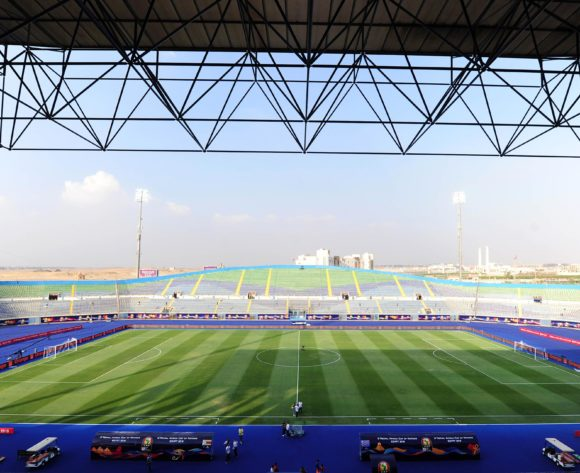 Genera view of 30 June Stadium during the 2019 Africa Cup of Nations Finals game between Zimbabwe and DR Congo at 30 June Stadium in Cairo, Egypt on 30 June 2019 © Ryan Wilkisky/BackpagePix