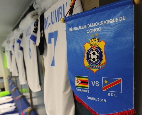 General view inside the DR Congo dressing room before the 2019 Africa Cup of Nations Finals game between Zimbabwe and DR Congo at 30 June Stadium in Cairo, Egypt on 30 June 2019 © Ryan Wilkisky/BackpagePix